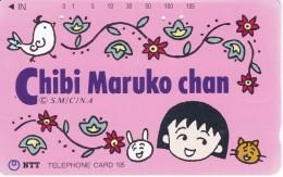 TARJETA DE JAPON DE MANGA DE CHIBI MARUKO CHAN (COMICS-DIBUJOS) - BD