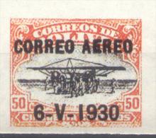 FALSO BOLIVIA AEREO YVERT NR. 3E NON DENTELE??? MNH FALSCH FALKST  RARE AÑO 1930 CONMEMORACION DEL VIAJE DEL DIRIGIBLE G - Bolivia