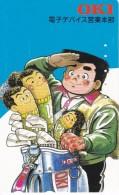 TARJETA DE JAPON DE MANGA DE OKI (COMICS-DIBUJOS) 110-016 - BD