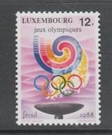 TIMBRE NEUF DU LUXEMBOURG - J. O. DE SEOUL N° Y&T 1159 - Zomer 1988: Seoel