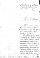 Super écriture-Lettre D´un Pauvre Agenais De La Liberté Adressé Au Mr Ministre Instruction Publique & Beaux Arts De 1902 - Timbres