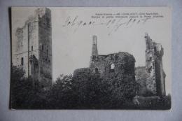 CHALUCET (SAINT-JEAN-LIGOURE), (HAUTE-VIENNE), Chalucet (côté Nord-est), Donjon Et Partie Intérieure, Château - Autres Communes