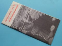 VOORLICHTING Van De WEDEROPGEROEPENEN - Complete Brochure Complet 16 Blz. ( Détail Zie / Voir Photo ) ! - Books, Magazines  & Catalogs