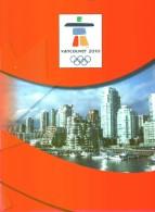 OLIMPIADI DI VANCOUVER - 2010 - Giochi Olimpici