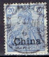 GERMANY #  CHINA FROM 1901 STAMPWORLD 20 - Offices: China