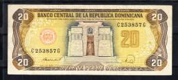 REPUBLICA DOMINICANA 1992.  20  PESOS .ALTAR DE LA PATRIA    MBC   B883 - República Dominicana