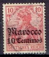 GERMANY #  MAROCCO FROM 1905 STAMPWORLD 29 - Bureau: Maroc