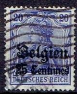 GERMANY #  BELGIAN FROM 1914 STAMPWORLD 4 - Zone Belge