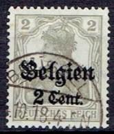 GERMANY#  BELGIAN FROM 1914 STAMPWORLD 10 - Zone Belge