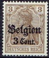GERMANY #  BELGIAN FROM 1914 STAMPWORLD 11* - Zone Belge