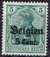 GERMANY #  BELGIAN FROM 1914 STAMPWORLD 12* - Zone Belge