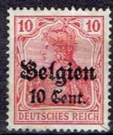 GERMANY #  BELGIAN FROM 1914 STAMPWORLD 14* - Zone Belge