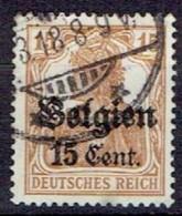 GERMANY #  BELGIAN FROM 1914 STAMPWORLD 16 - Zone Belge