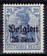 GERMANY #  BELGIAN FROM 1914 STAMPWORLD 18* - Zone Belge