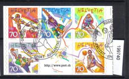 Schweiz Zst. 953 - 957 / Mi. 1658 - 1662 Ersttagsstempel - Gebraucht