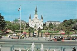 LOUISIANA---NEW ORLEANS--Jackson Square---voir 2 Scans - New Orleans
