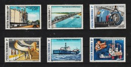 1989 -  L Industrie Roumaine Mi 4538/4543 Et Yv 3841/3846 MNH - 1948-.... Republics