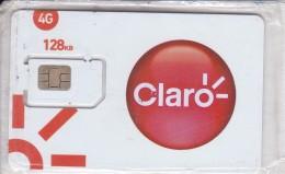 TARJETA DE PANAMA DE CLARO CON CHIP 128kb (NUEVA-MINT) SIM - Panama