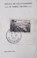 FR 1955 - N° 1041 Y & T Oblitéré Sur Fragment - Daté St-Pierre Le 2.11.1955 - Fragment Bon état - France