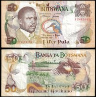 Botswana 50 PULA ND 1997 P 19 VF - Botswana