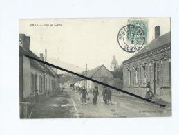 CPA - Bray - Rue De Cappy  -  ( Bray Sur Somme ) - Bray Sur Somme