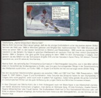 Germany 1994 / Olympic Games Lillehammer / Marina Kiehl / Alpine Skiing - Deportes
