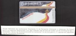 Liechtenstein 1994 / Olympic Games Lillehammer / Ski Federation - Sport