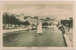 Postal Portugal - Aveiro - Canal Central (Ed. Souto Ratolla) - CPA - Postcard - Aveiro