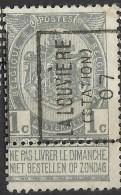 _6Xz-930: N°  875 : LA LOUVIERE (STATION) 07 A - Roller Precancels 1900-09