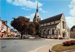CPM - SELLES SUR CHER - L'église Saint Eusice - Selles Sur Cher