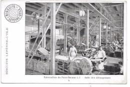 Fabrication Du PETIT BEURRE LU - Salle Des Découpeuses - Biscuits LEFEVRE-UTILE - Werbepostkarten