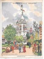 CHROMO 11 X 14.5 Cm - MAISON DE LA BELLE JARDINIERE - Exposition Universelle 1889 - VENEZUELA - Chromos