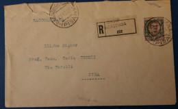 RACCOMANDATA CASCIANA 1923 - 6. 1946-.. Repubblica