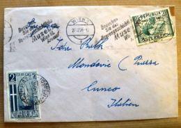 BUSTA VIAGGIATA 1956 AUSTRIA - Austria