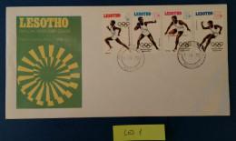BUSTA FDC 1972 LESOTHO - Lesotho (1966-...)