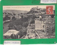 LOURDES VUE D'ENSEMBLE LE VIEUX CHATEAU - Lourdes