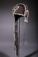Art Africain Coiffe De Cérémonie Baoulé - Art Africain