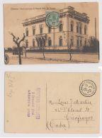 LIVORNO - VIALE PRINCIPE DI NAPOLI VILLA DE CHAVES - 1920 - Livorno