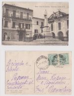 PENNE ( PESCARA ) PIAZZA XX SETTEMBRE - MONUMENTO AI MARTIRI - EDIZ. PAPA - 1920 - Pescara