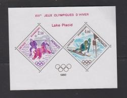 MONACO-1980-BLOC SPECIAL N°12** JEUX OLYMPIQUES DE LAKE PLACID - Blocks & Kleinbögen