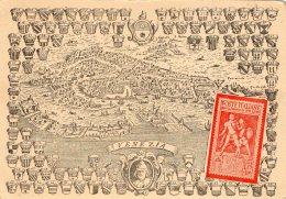 [DC9502] CPA - XIII° ADUNATA FILATELICA TRIVENETA - VENEZIA 4 OTTOBRE 1942 - Non Viaggiata - Old Postcard - Francobolli (rappresentazioni)