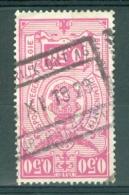 """BELGIE - OBP Nr TR 141 - Cachet   """"KORTRIJK-ONT. 16 - COURTRAI-RECEV."""" - (ref. AD-6127) - Spoorwegen"""