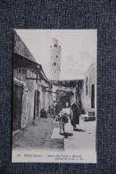 TAZA - Entrée Des Souks Et Minaret DJAMA ES SOUK - Maroc