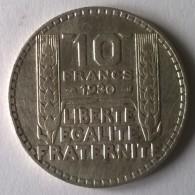 10 Francs TURIN 1930 - TTB - - France