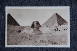 EGYPTE - Les Pyramides Et Le SPHINX - Pyramides