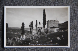 STAMBOUL - Paysage Sur La Route D'EYOUB - Turquie