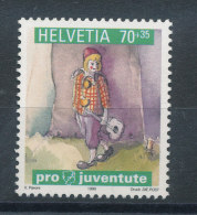 Suisse N°1630** Pro Juventute - Clown Avec Sa Guitare - Ungebraucht