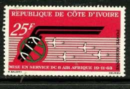Côte D´Ivoire 1963 Y&T PA 30 ** - Côte D'Ivoire (1960-...)