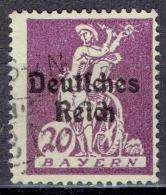 Deutsches Reich - Mi-Nr 122 Gestempelt / Used (B1053) - Gebraucht