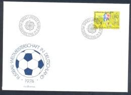 Liechtenstein 1974 Cover: Football Fussball Soccer Calcio; FIFA World Cup 1974; Weltmeisterschaft Mundial - Coppa Del Mondo